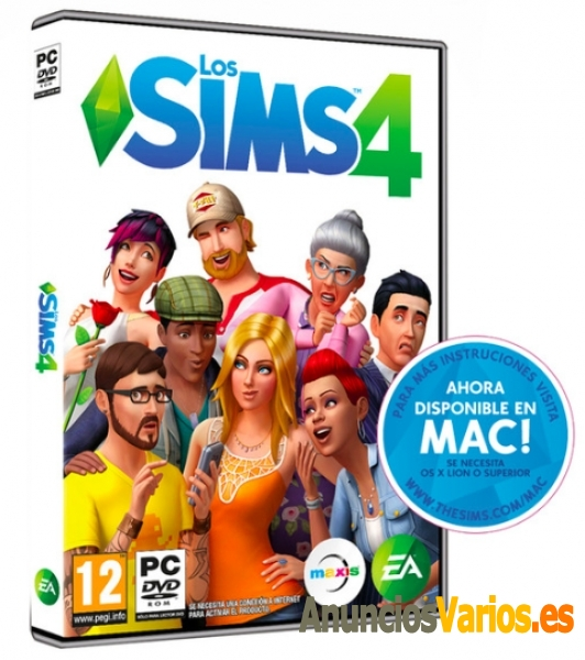 Los Sims 4 PC / Mac*